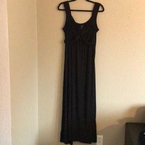 Maxi Dress, Black